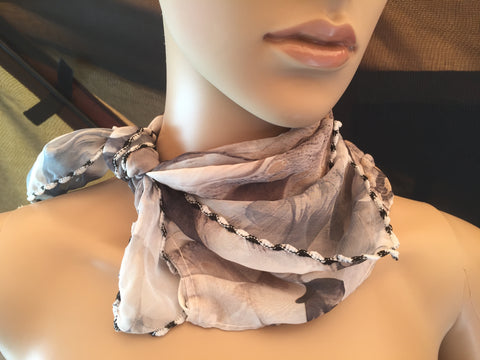 1 Fits All - GrayishC - Face Mask Scarf