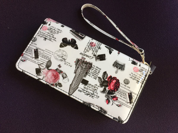 Stylish Full Size Wristlet Wallet