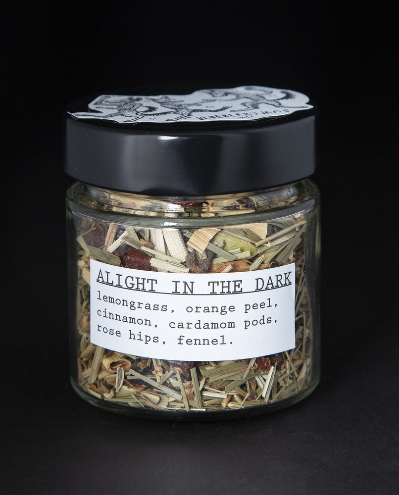 Alight in the Dark Herbal Infusion - Blueberryjams