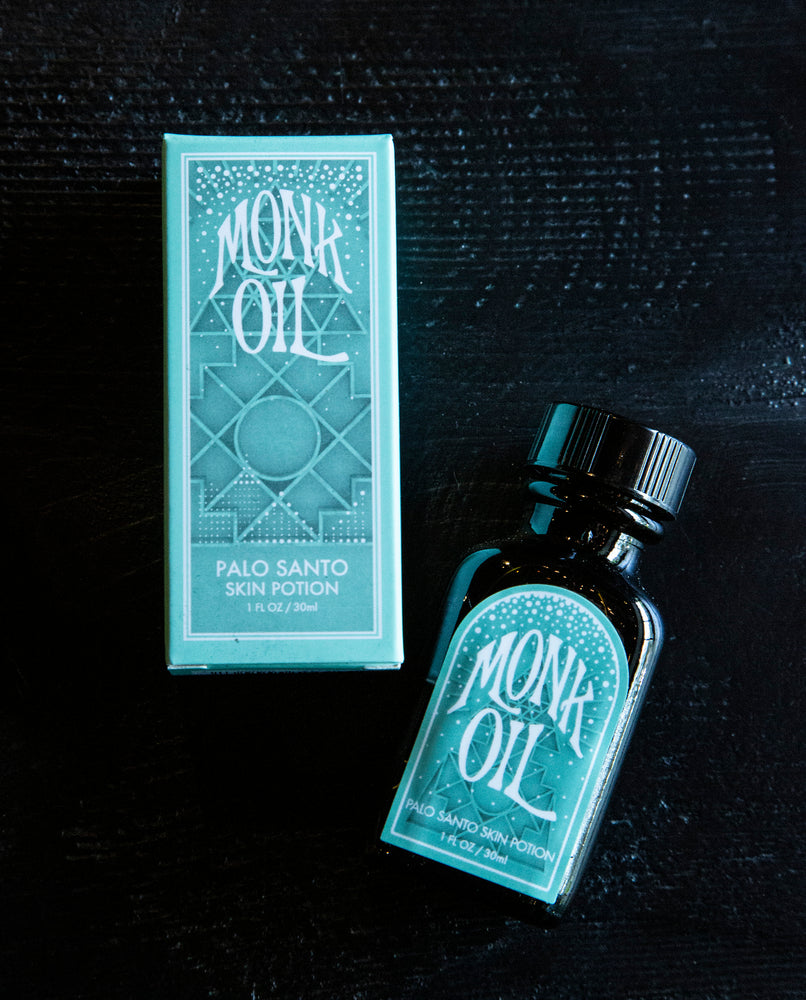 Palo Santo Skin Potion by Incausa + Monk Oil