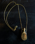 Brass Amphora Necklace - perfume necklace