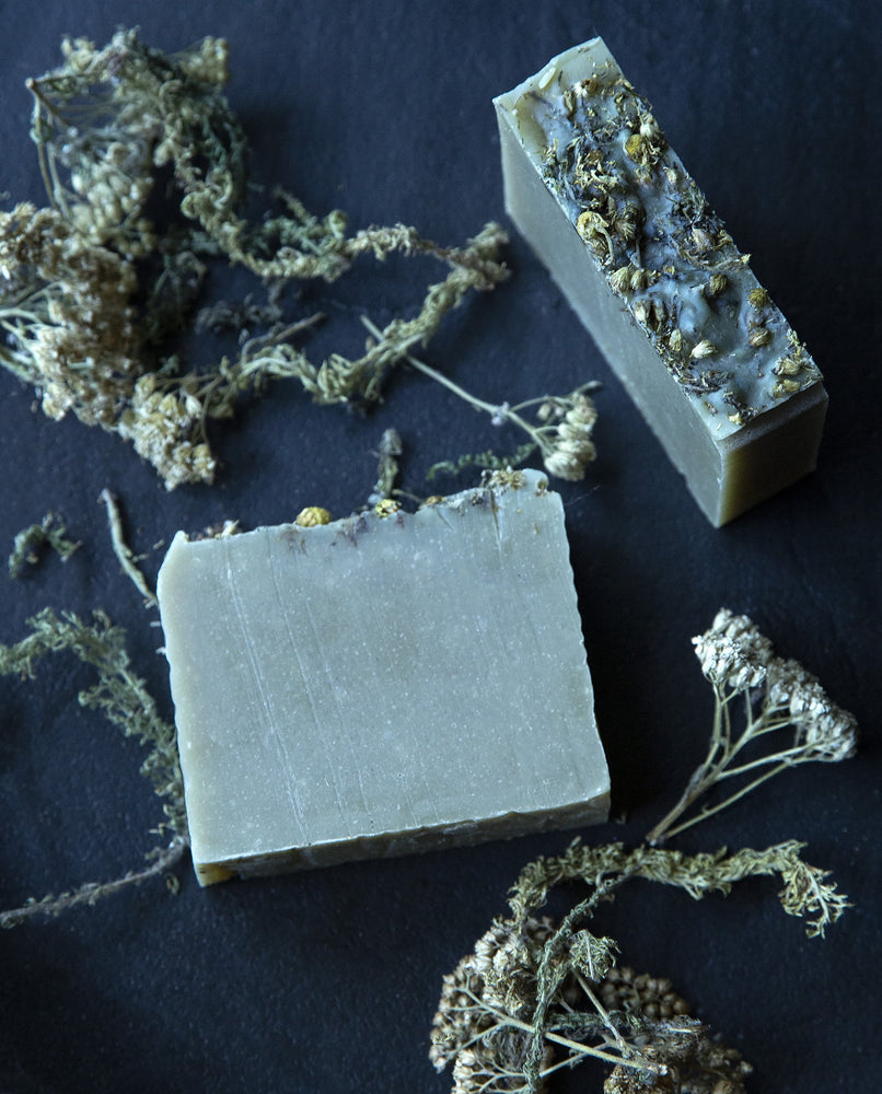 Blue Yarrow and Chamomile - Natural Cold Process Soap