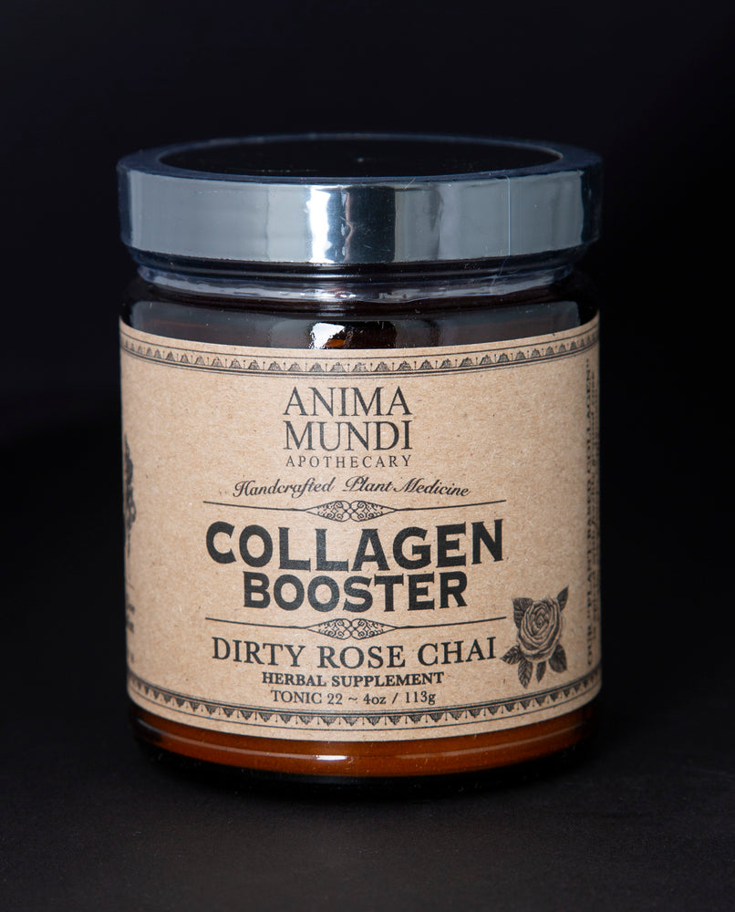 Collagen Booster: Dirty Rose Chai - Anima Mundi Apothecary