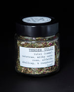 Tender Tulsi Herbal Infusion - Blueberryjams