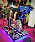 StepManiaX Playing at Gamescom