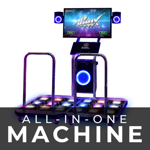 StepManiaX All-In-One Machine
