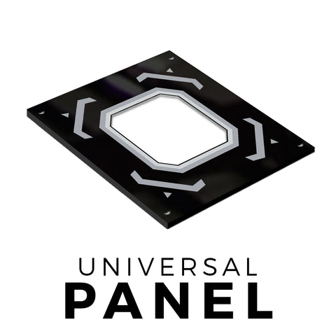 Universal Direction Plastic Panel