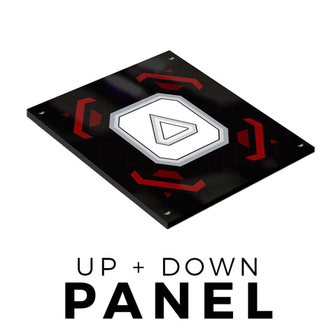 Up/Down Plastic Panel