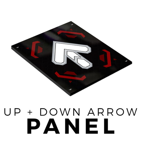 Up/Down Plastic Panel (Arrow)