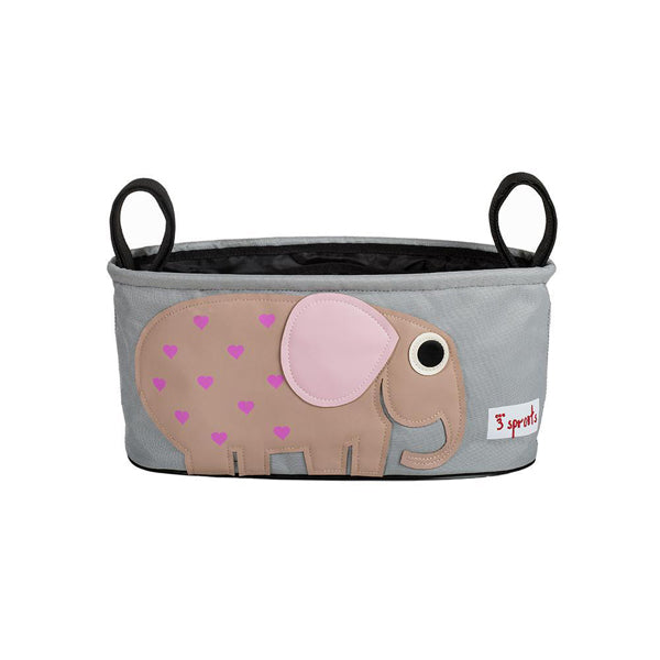 3 Sprouts Stroller Organiser - Elephant