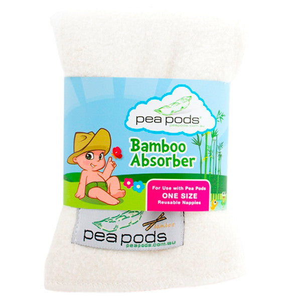 Pea Pods One Size Reusable Nappy - Additional Absorber