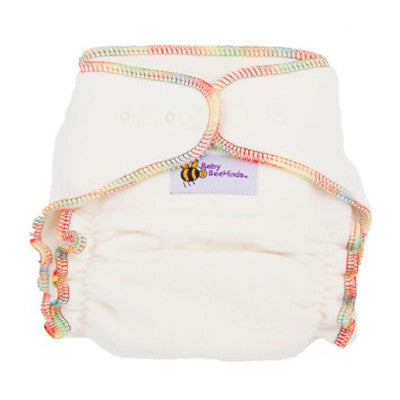 Baby BeeHinds Bamboo Fitted Cloth Nappy