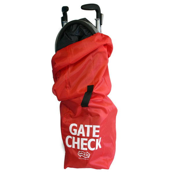 JL Childress Red Stroller Gate Check Bag