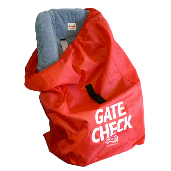JL Childress Red Car Seat Gate Check Bag