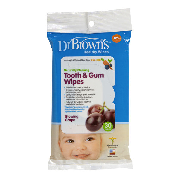 Dr Browns Tooth & Gum Wipes