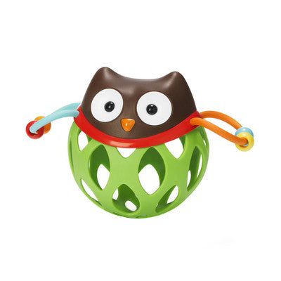 Skip Hop Roll-Around Rattle - Owl