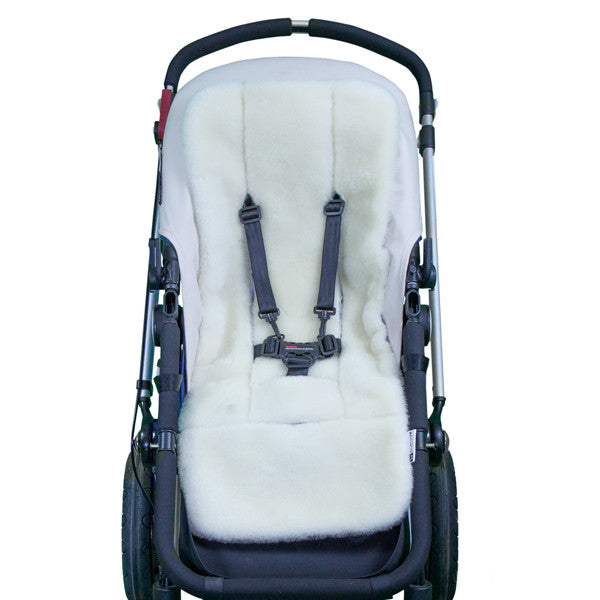 Outlook Universal Wool Pram Liner - Cream