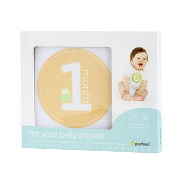 Pearhead First Year Belly Stickers