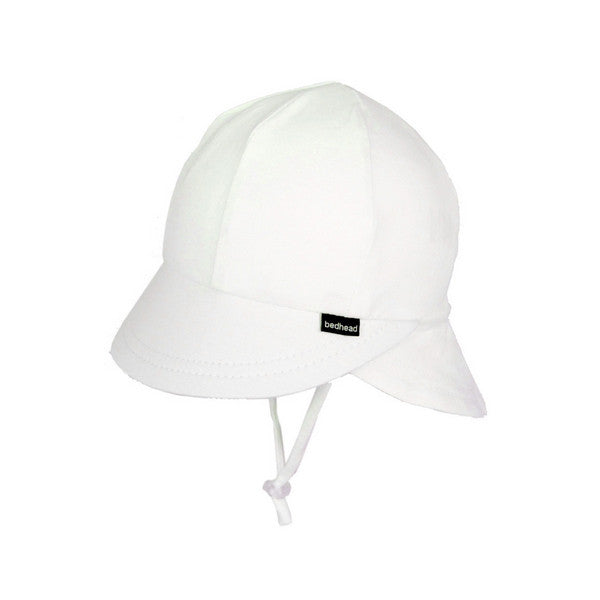 Bedhead Legionnaire Hat with Strap - White