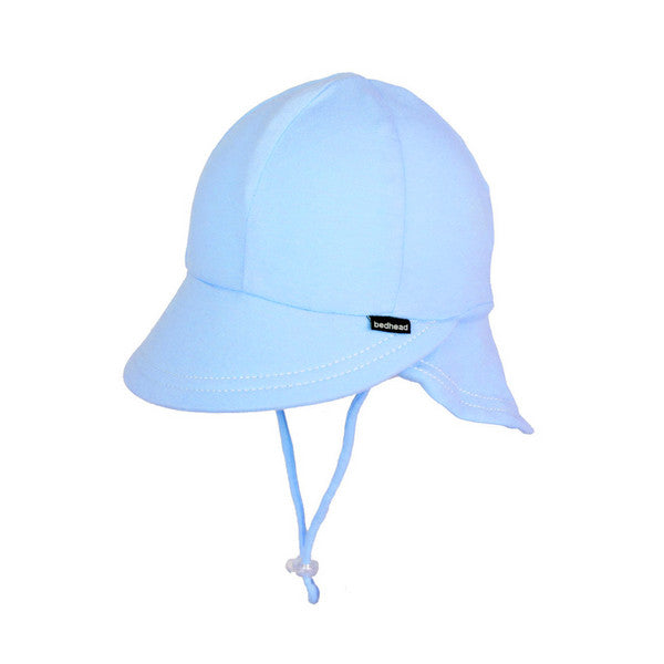Bedhead Legionnaire Hat with Strap - Baby Blue