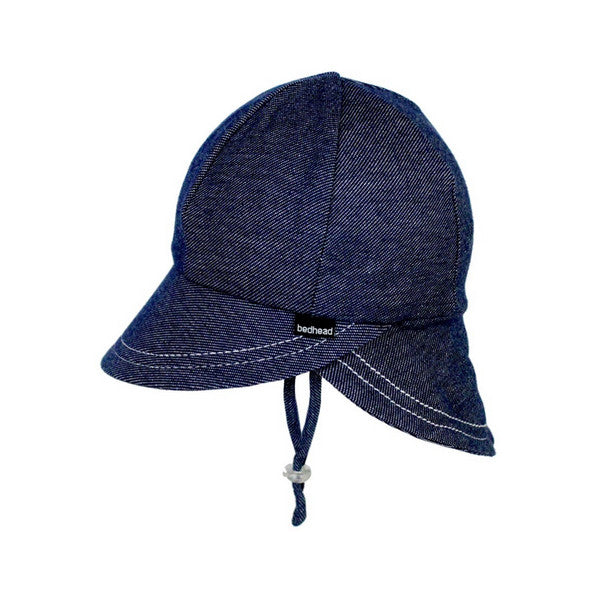 Bedhead Legionnaire Hat with Strap - Denim