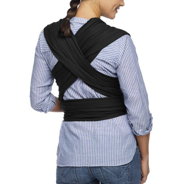 Moby Evolution Wrap Carrier - Black