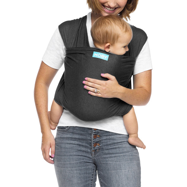 Moby Evolution Wrap Carrier - Charcoal