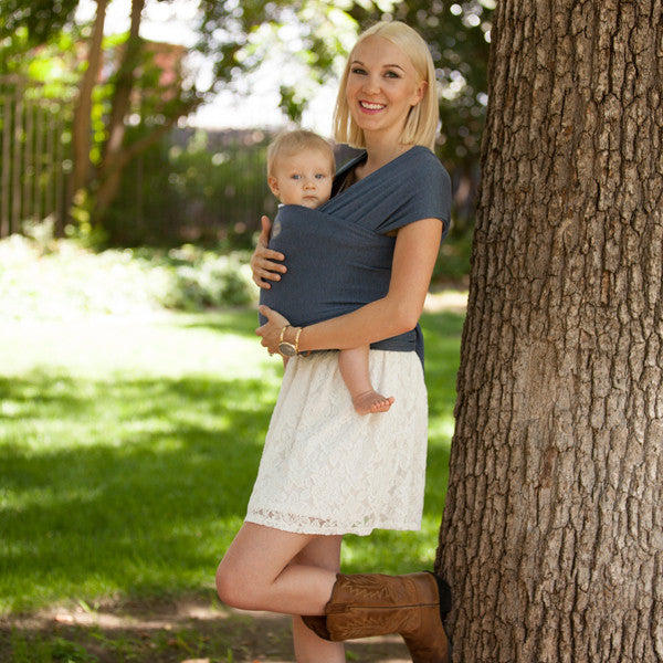 Moby Bamboo Wrap Carrier - Denim