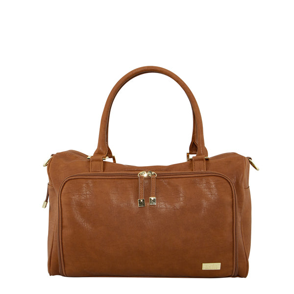 Isoki Double Zip Satchel - Amber