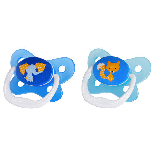 Dr Browns Prevent Pacifiers - 2 Pack Blue 6-12 Months