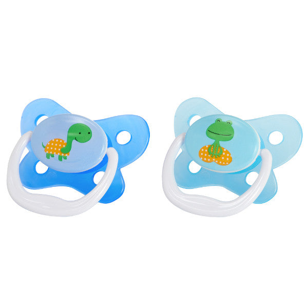 Dr Browns Prevent Pacifiers - 2 Pack Blue 12 Months+