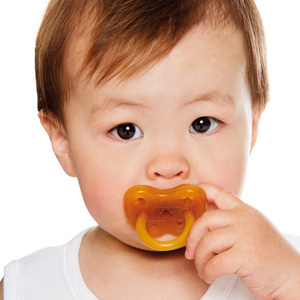 Hevea Natural Rubber Pacifier - Orthodontic Teat