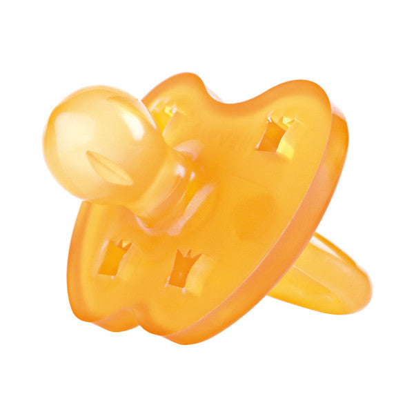 Hevea Natural Rubber Pacifier - Standard Round Teat