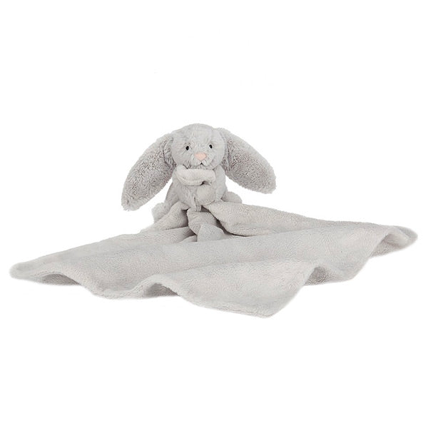 Jellycat Bashful Bunny Soother - Silver