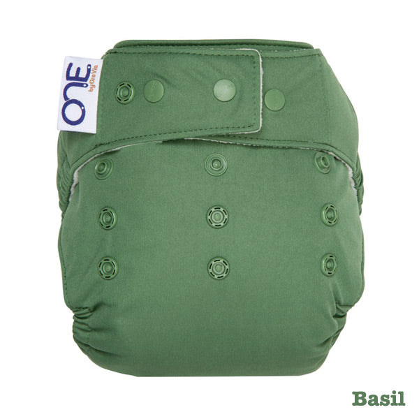 Grovia O.N.E Cloth Nappy - Basil