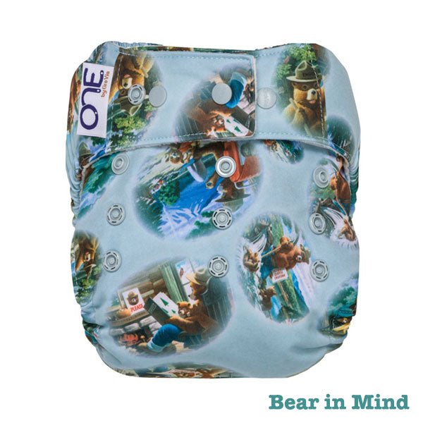 Grovia O.N.E Cloth Nappy - Bear in Mind