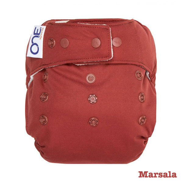 Grovia O.N.E Cloth Nappy - Marsala