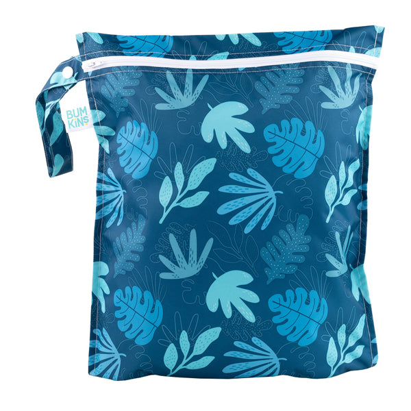 Bumkins Wet Bag - Blue Tropic