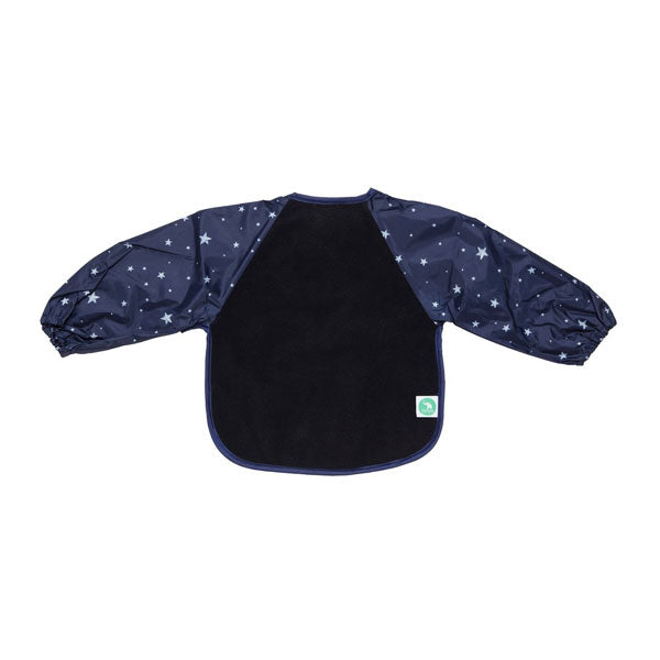 All4Ella Long Sleeve Bib - Star Blue