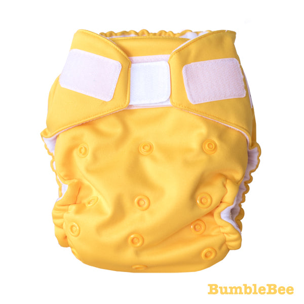 Baby BeeHinds Magic-All-in-Two Cloth Nappy - Solid Brights - BumbleBee