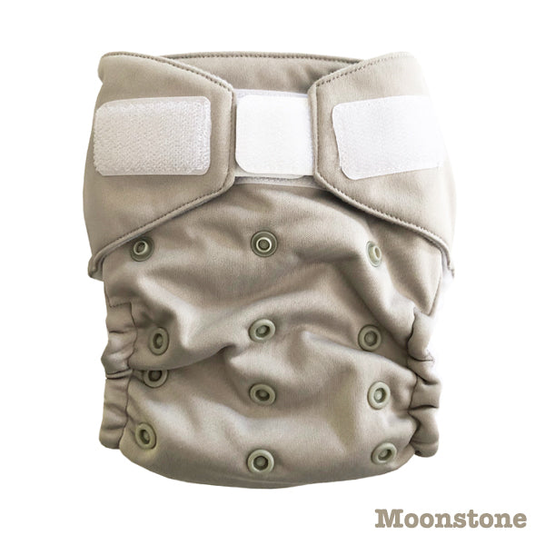Baby BeeHinds Magic-All-in-Two Cloth Nappy - Solid Pastels - Moonstone