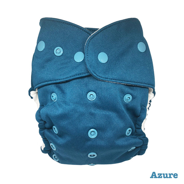 Baby BeeHinds Magic-Alls Multi-Fit Cloth Nappy - Solid Brights - Azure