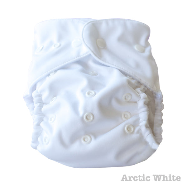 Baby BeeHinds Magic-Alls Multi-Fit Cloth Nappy - Arctic White