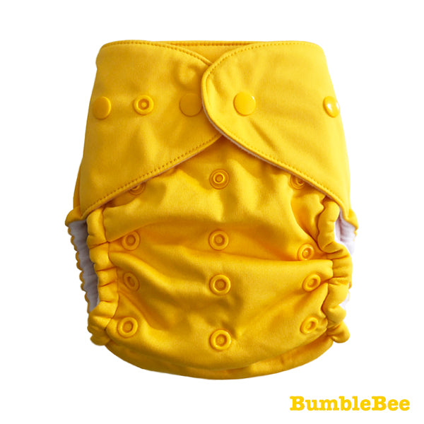 Baby BeeHinds Magic-Alls Multi-Fit Cloth Nappy - Solid Brights - BumbleBee