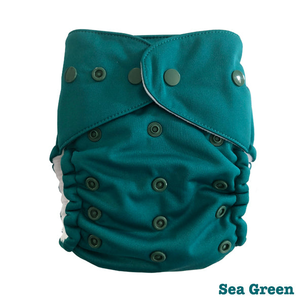 Baby BeeHinds Magic-Alls Multi-Fit Cloth Nappy - Sea Green