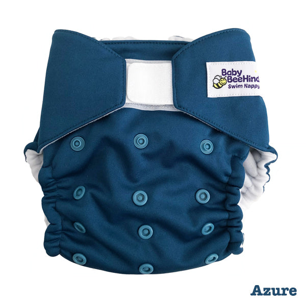 Baby BeeHinds Swim Nappy - Azure