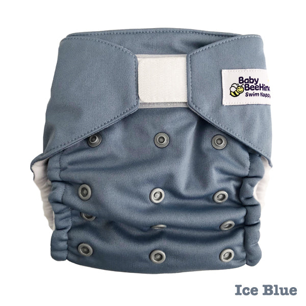 Baby BeeHinds Swim Nappy - Ice Blue