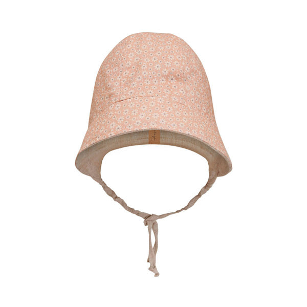 Bedhead Heritage Reversible Sun Bonnet - Polly / Flax