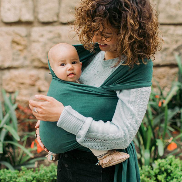 Boba Serenity Wrap Carrier - Rainforest