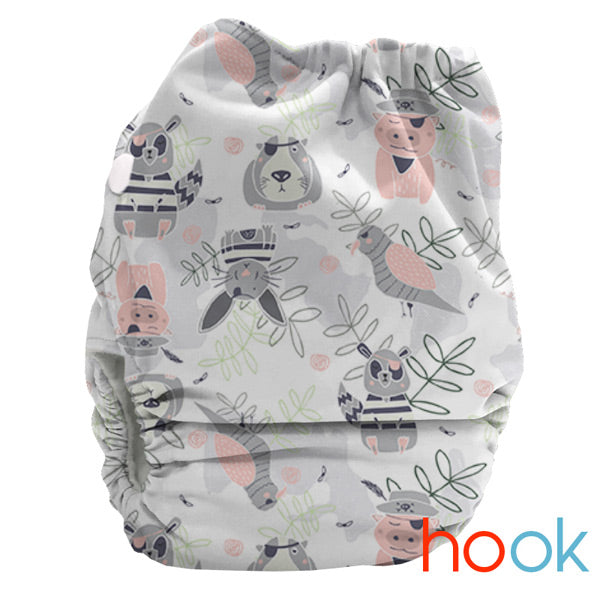 Bubblebubs BoPeep AI2 Newborn Complete Cloth Nappy - PUL - Limited Edition - Hook